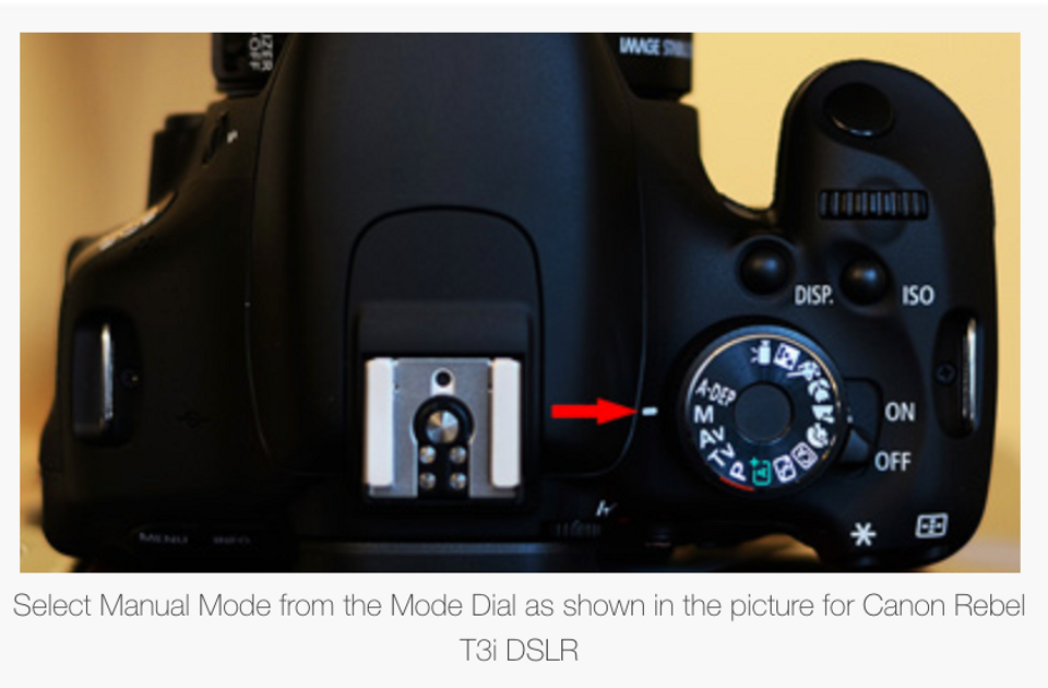Simple Steps to Learn Manual Mode for Canon DSLR Cameras
